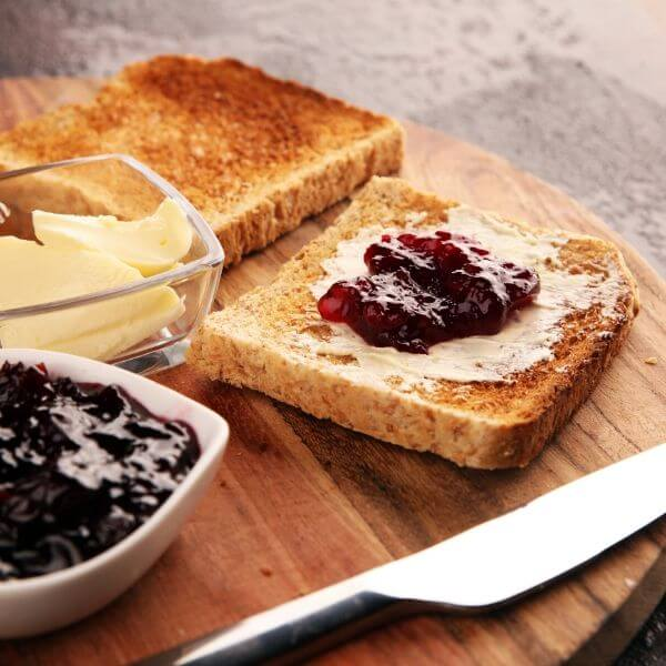 tostapane vintage ariete 156 pane tostato con burro e marmellata
