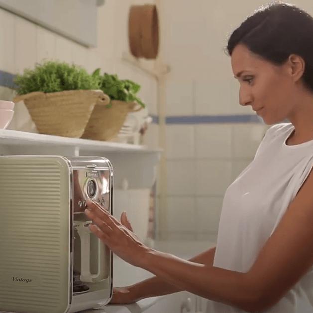 macchina per caffè americano ariete vintage programmabile
