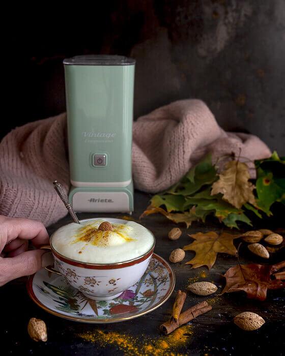 cappuccinatore vintage ariete cappuccino schiuma di latte calda e fredda