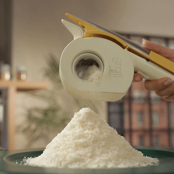 formaggio grattugiato grattugia elettrica impermeabile gratì waterproof