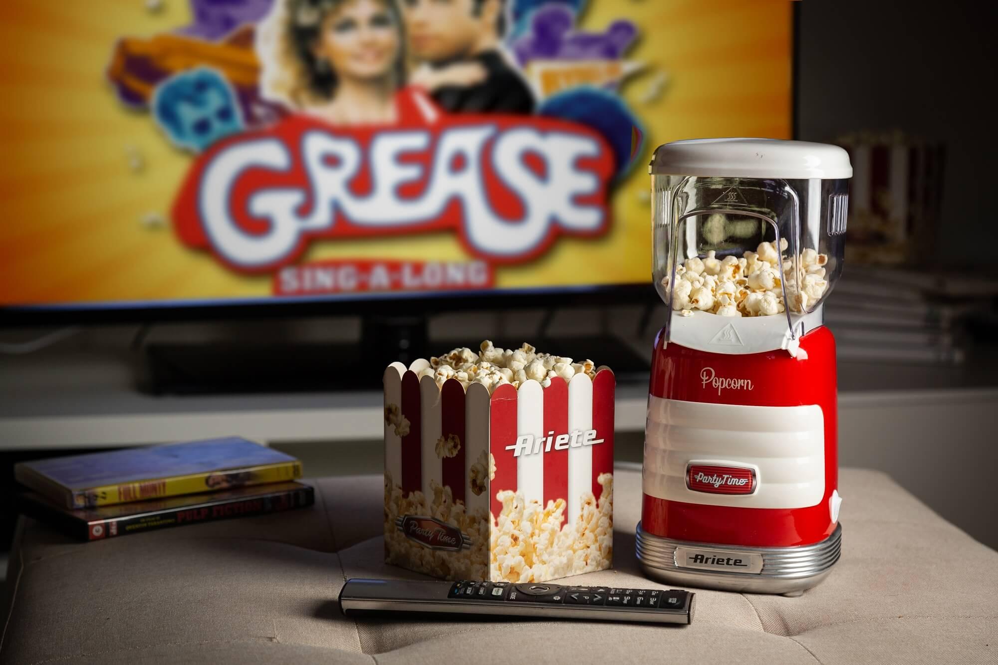 macchina per popcorn party time ariete 2956 rosso