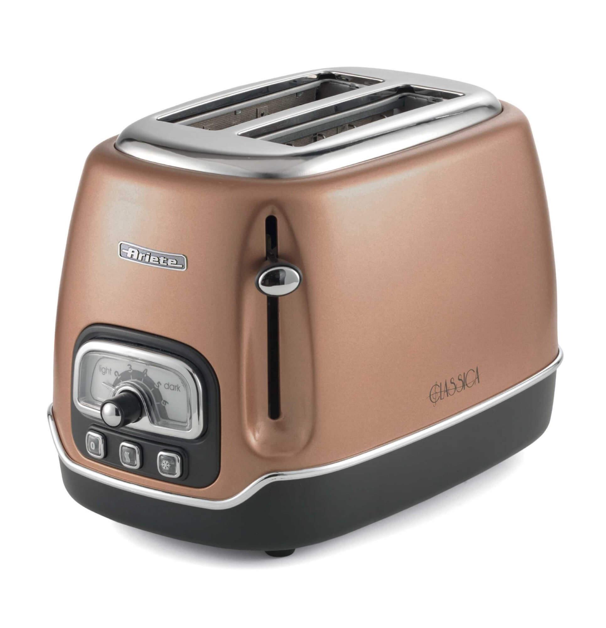 Ariete Toaster 2 fette Classica colore rame