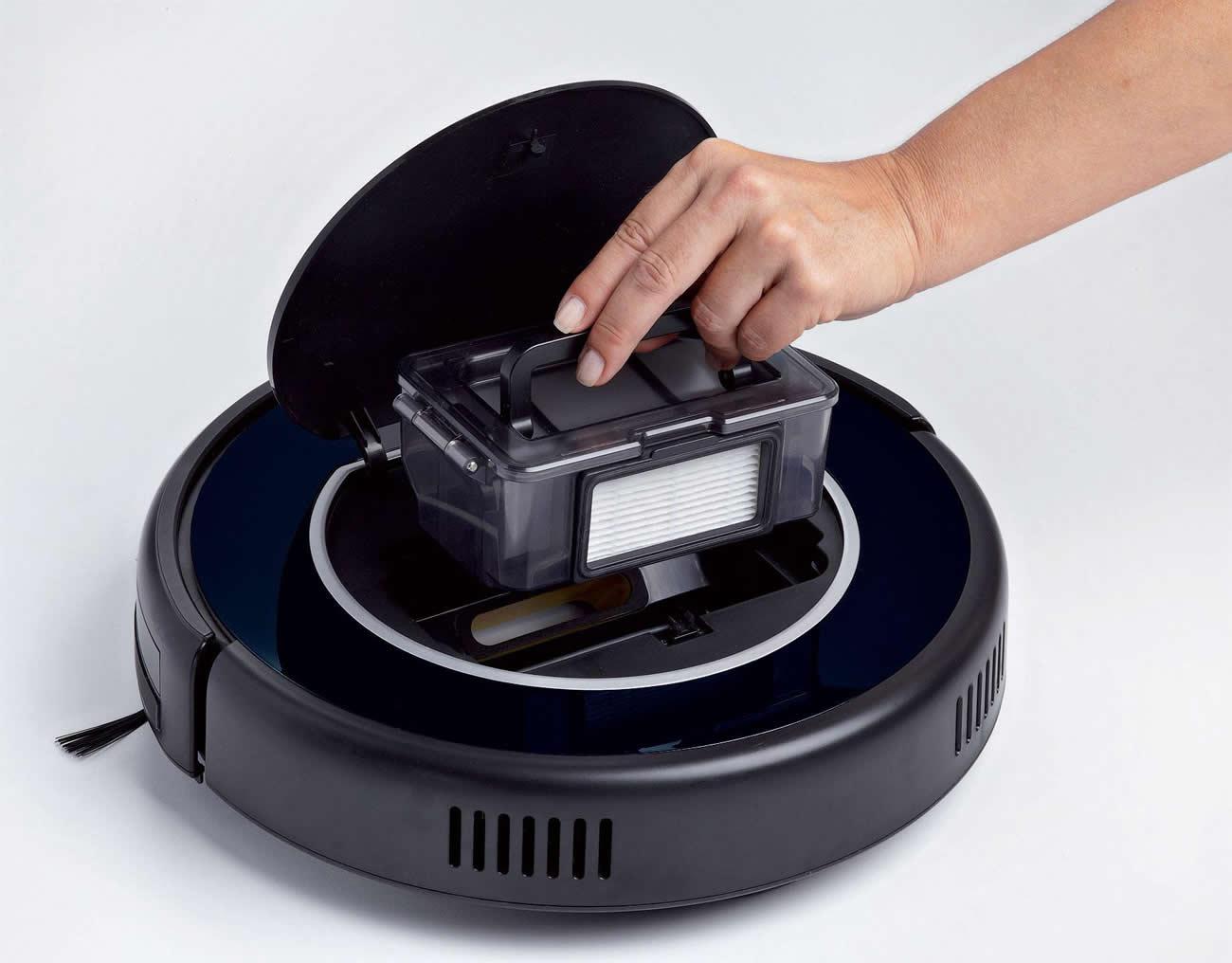 Robot Aspirapolvere con Telecomando Robot Digital Display