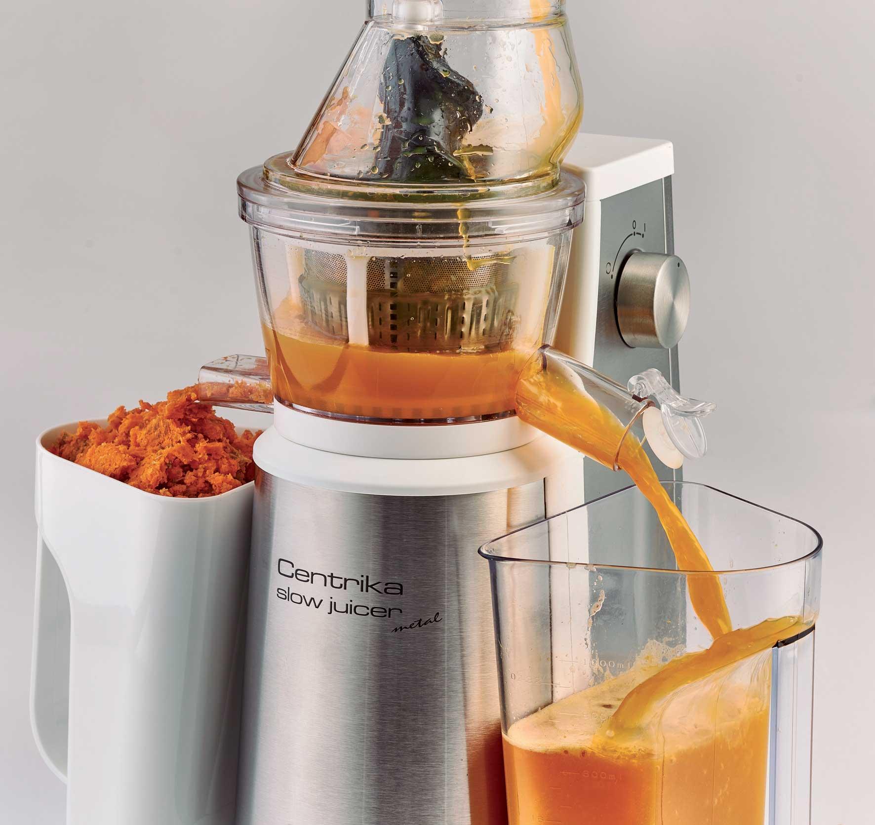 Filtro Slow Juicer Mondial : Centrika Slow Juicer Metal - Ariete Store